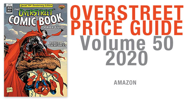 OVERSTREET PRICE GUIDE VOLUME 50