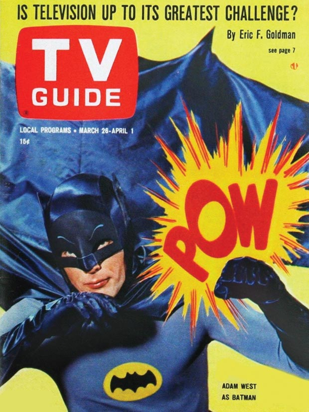 Adam West Batman - TV Guide Cover