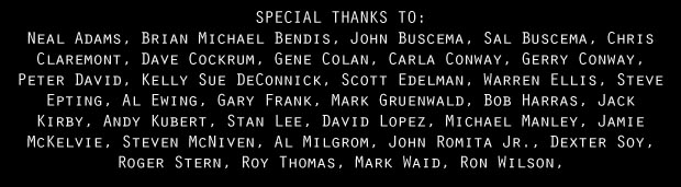 Special Thanks Captain Marvel Movie