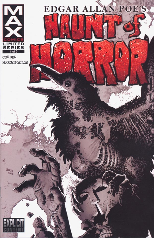 Poe Haunt of Horror 1 cover by Corben
