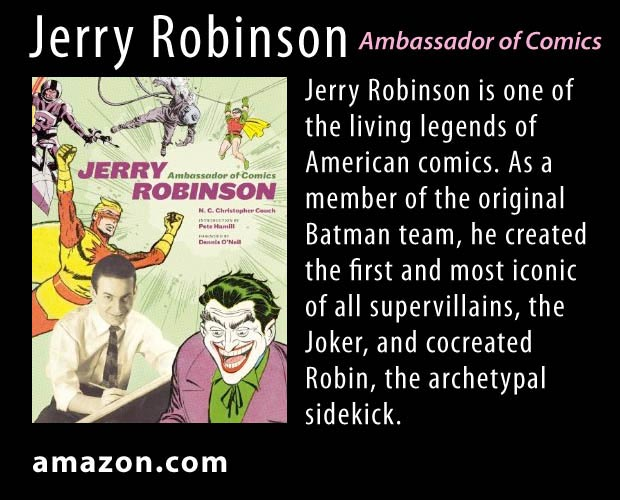 Jerry Robinson Book