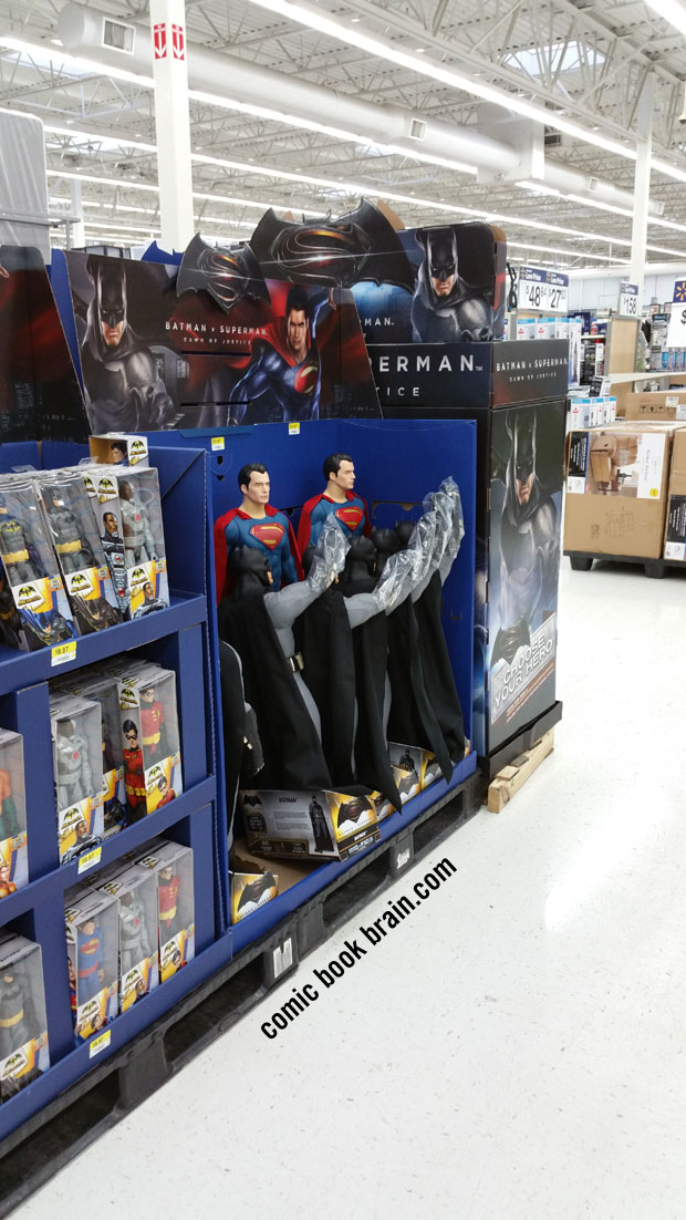 Kennett, Missouri Walmart selling Batman V Superman