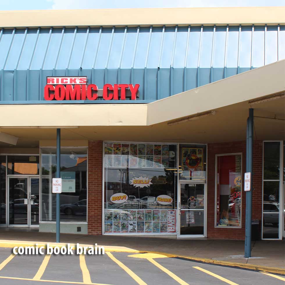 Ricks Comic City near Nashville - Tennessee- Donelson Plaza