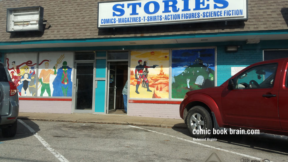 Stories COmicBook Store Forest Ave Richmond Virginia