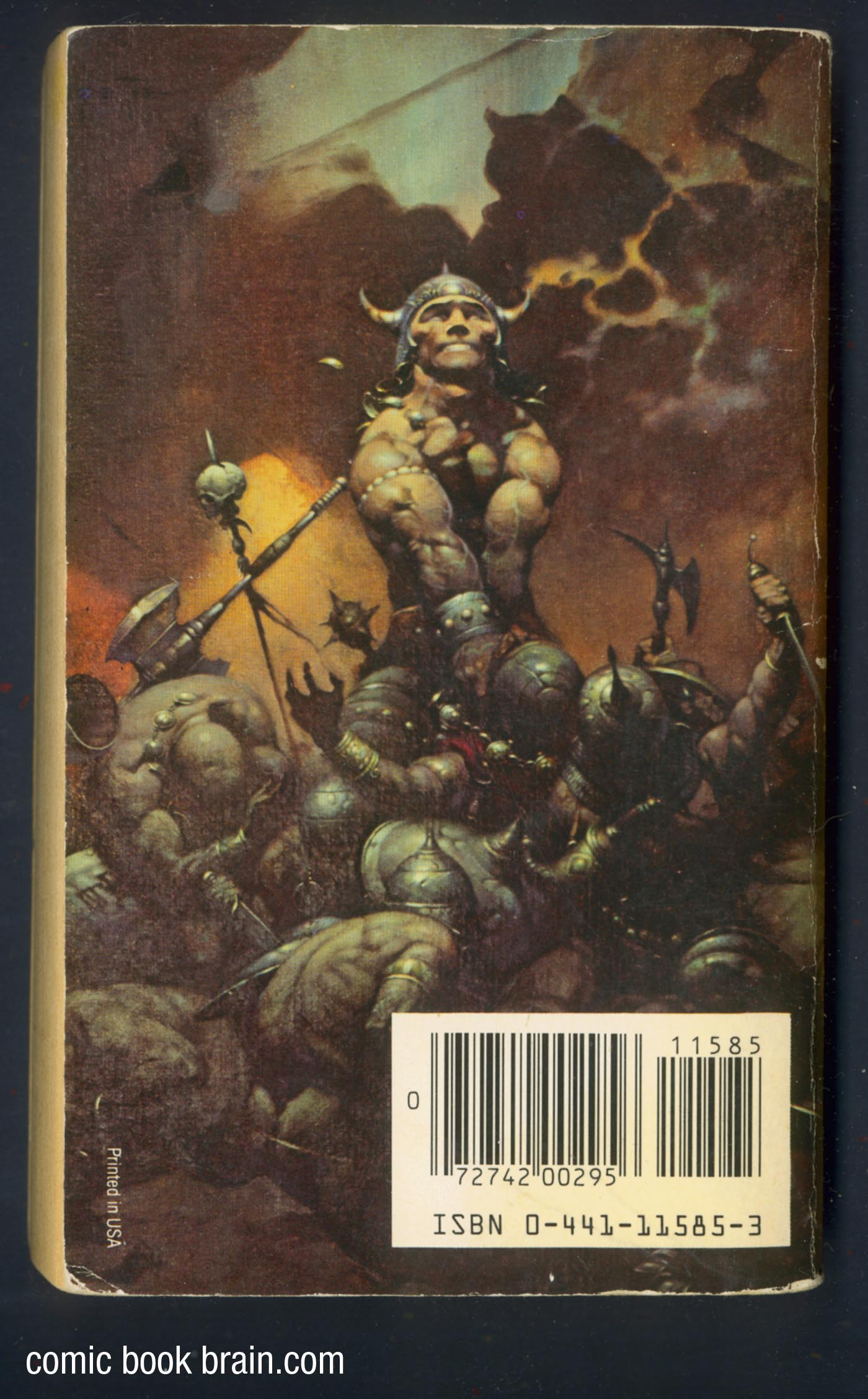 Back Cover Conan the Buccaneer