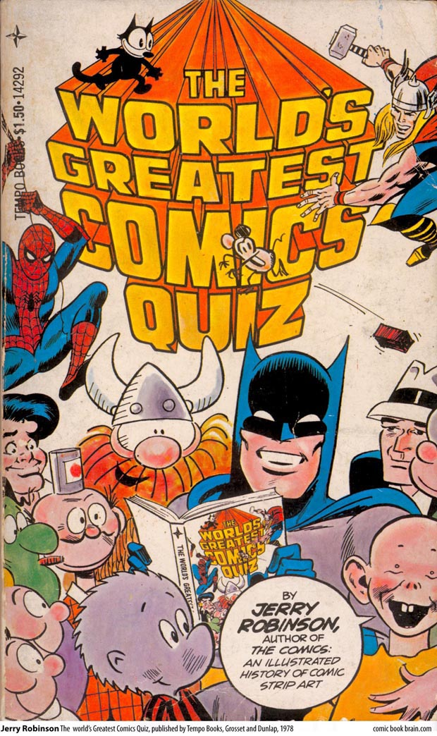 Jerry Robinsons The Worlds Greatest Comics Quiz Cover