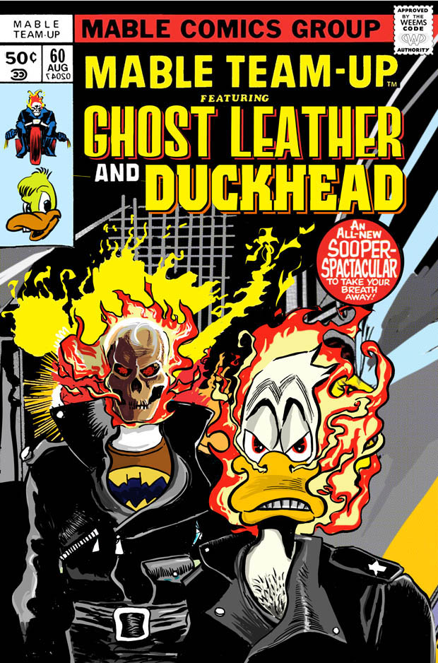 Ghost Leather and Duckhead
