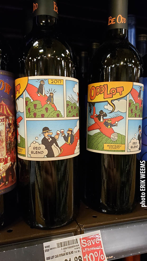 Cartoon BLend Wine