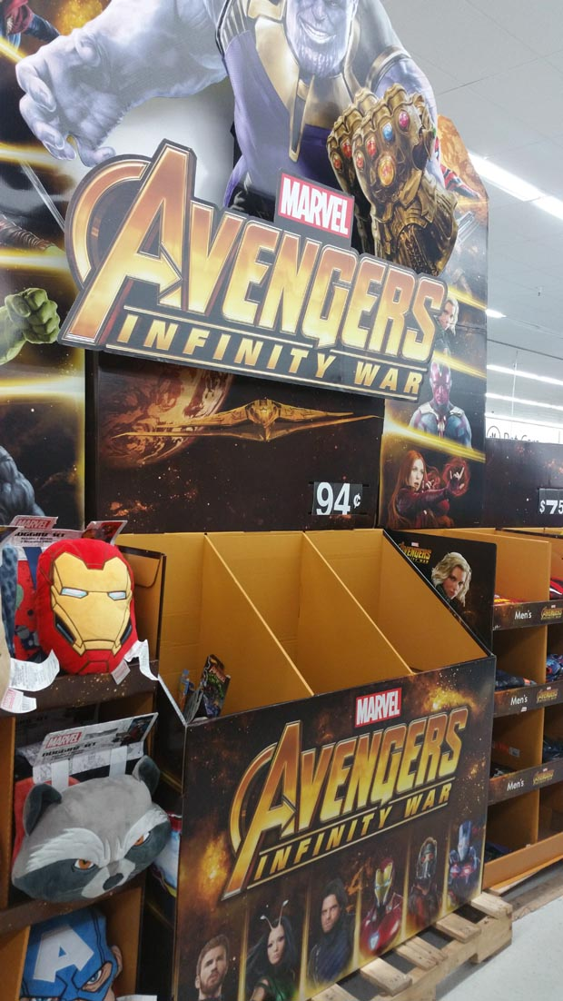 Infinity War Display Stand