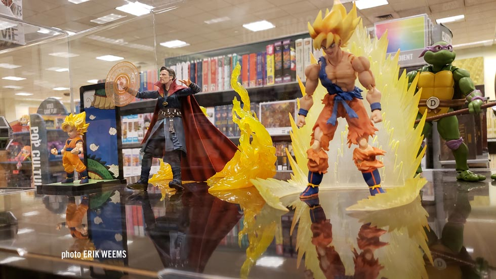 INSIDE the BARNES AND NOBLE superhero collection