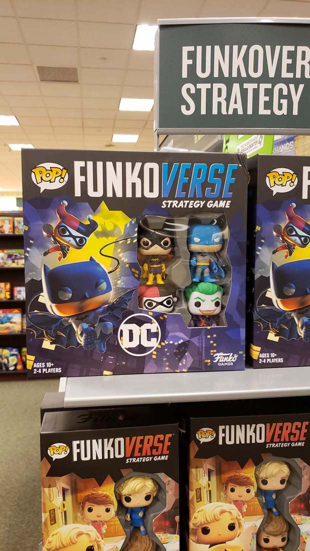 The Batman Funkoverse Strategy Game