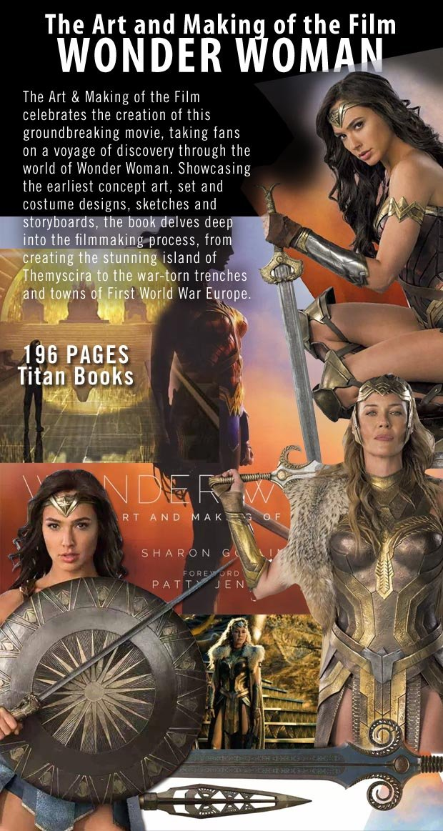 Wonder Woman Art Book of the Film