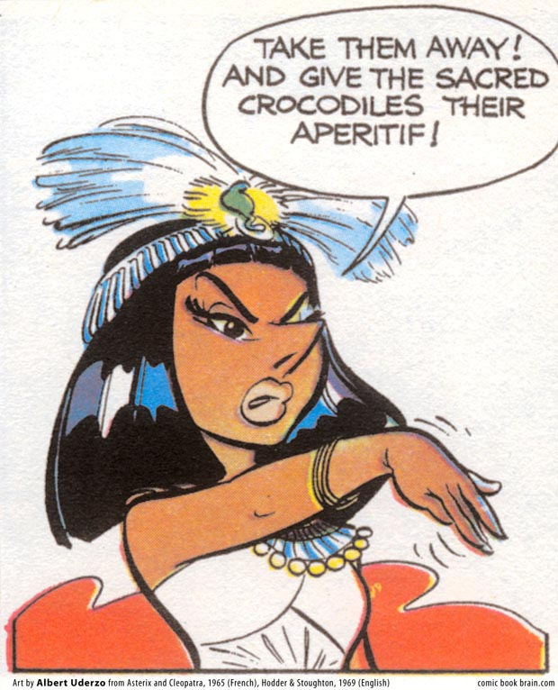 Cleopatra, from Asterix and Cleopatra