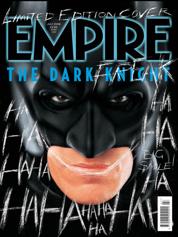 Dark Knight Sequel Empire Cover