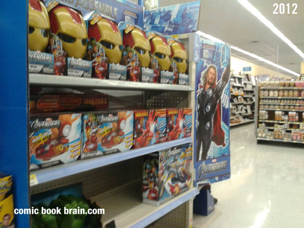 Walmart The Avengers Movie Toys