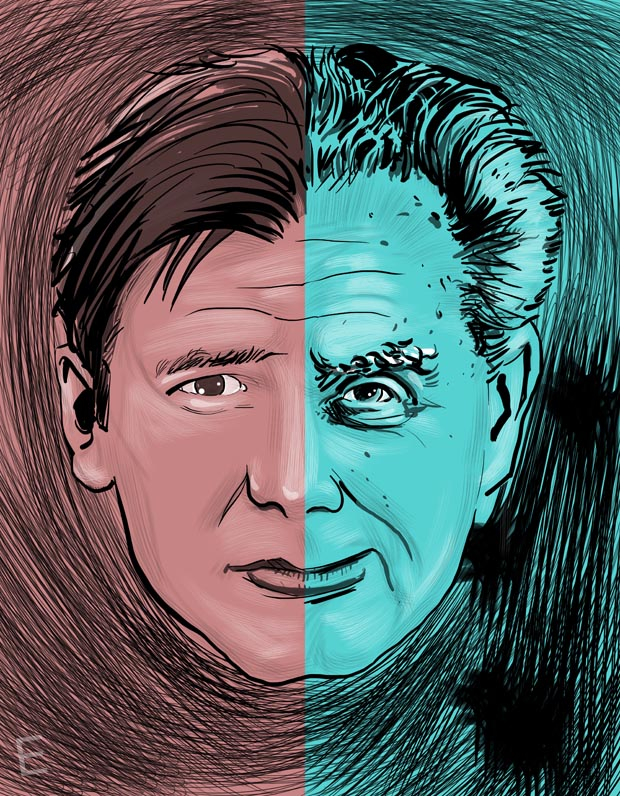 Harrison Ford and Jack Kirby