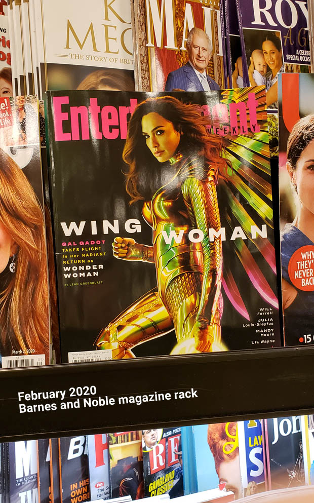 Gal Gadot Wonder Woman Wing Cover Entertainment