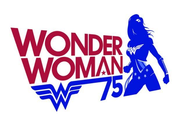 Wonder Woman 75 Year Logo DC Comics