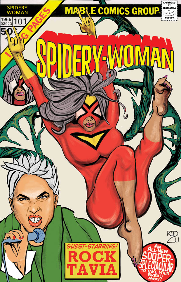 Spidery Woman Issue 101