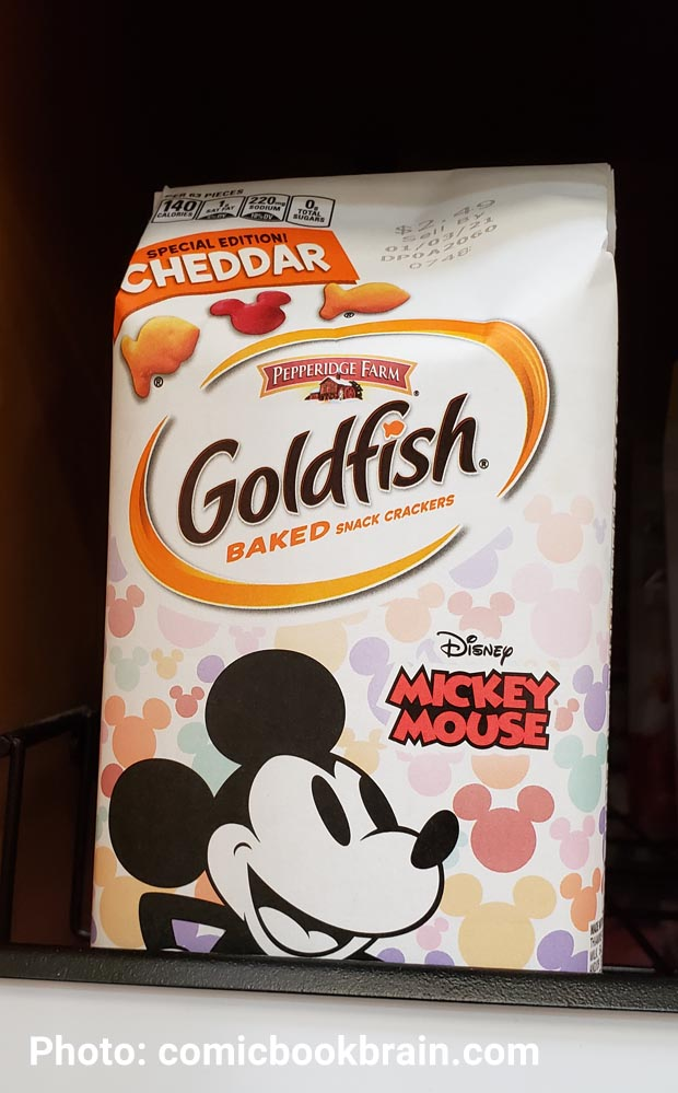 Goldfish Mickey Mouse