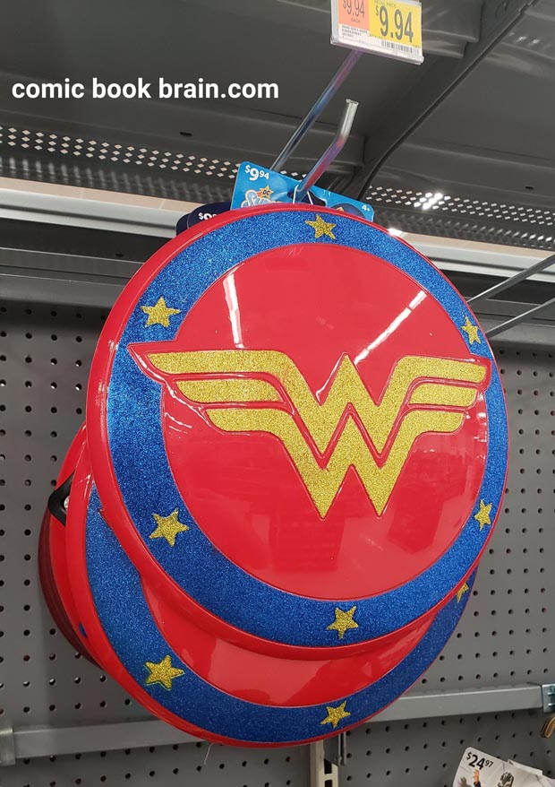 Wonder Woman toy shield