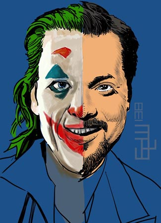 Orson Welles and Joker vs David Fincher