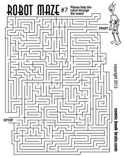 photograph about Printable Mazes Hard known as Maze Headquarters - Mazes for young children with different amounts of